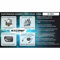 Elektrosada Excimer Power Drive - Front PLUS -11,2 Ah
